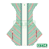 Tonykart bundplade stickers, Krypton 801R
